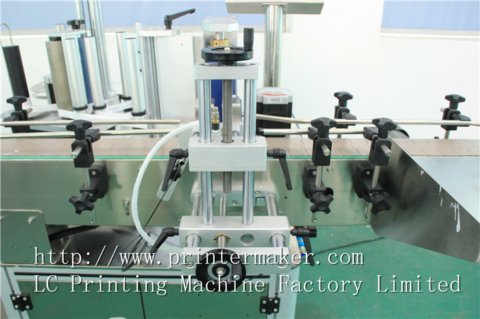 Automatic Labeling Machine For Bottles top and sidewall