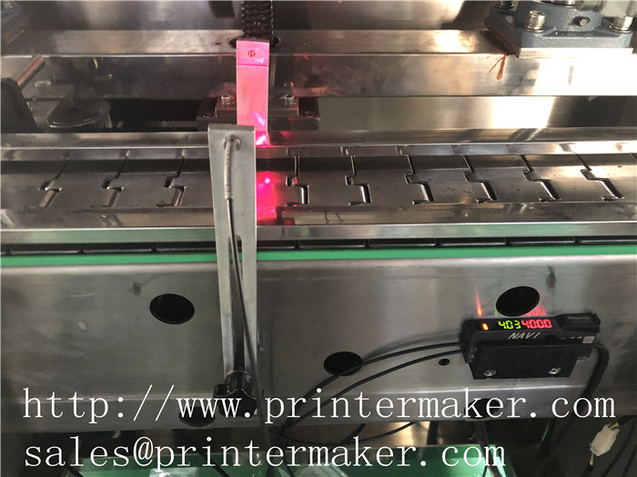 Linear High Speed Trapping Label Machine