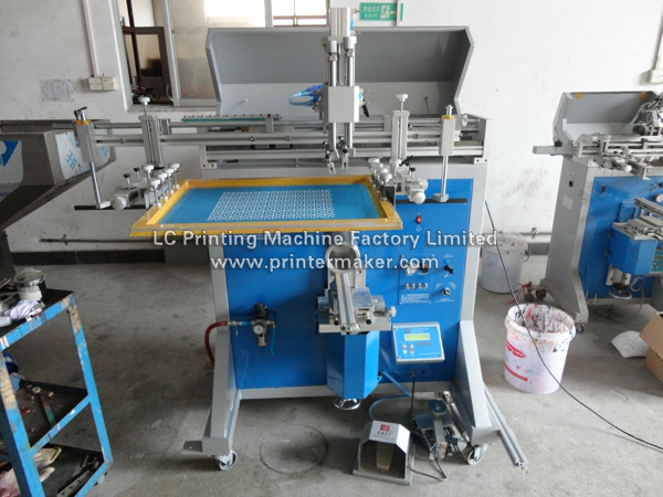 Large Size Curved Screen Printing Machine