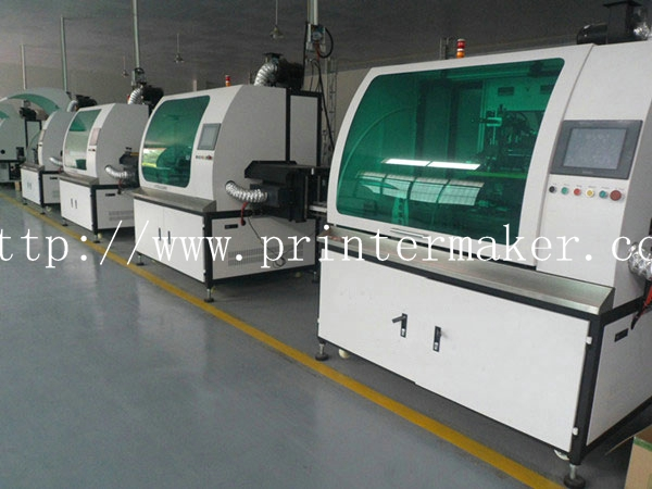 Automatic Glass Perfume Bottle Screen Printing Machine
