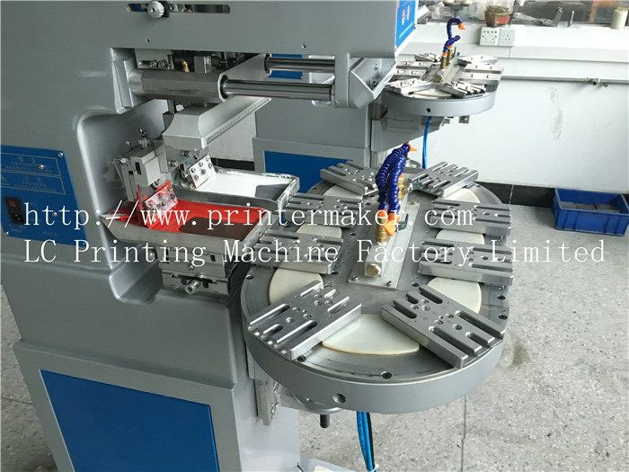 Two Color Pad Printing Machine with Carousel