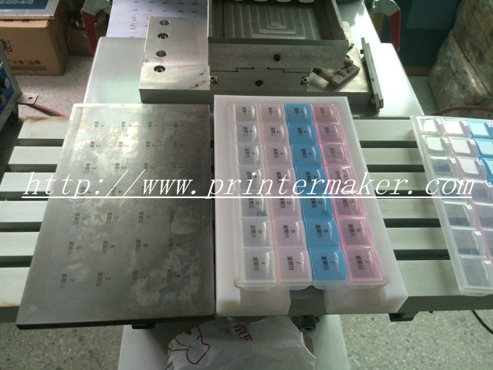 Large Printing Size One Color Pad Printing Machine