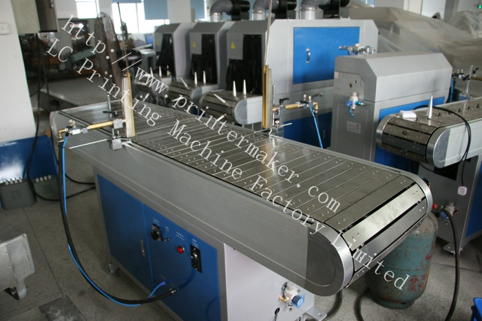 Plastic Crate Flame Treatment Machine
