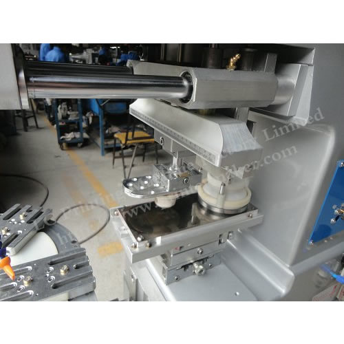 One Color Pad Printing Machine with Conveyer