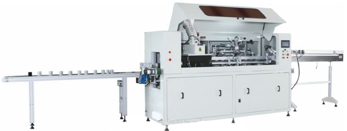 High Precision Fully Automatic Oil Filter Screen Printing Machine