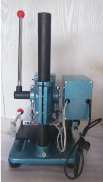 China Manual Plane Hot Stamping Machine