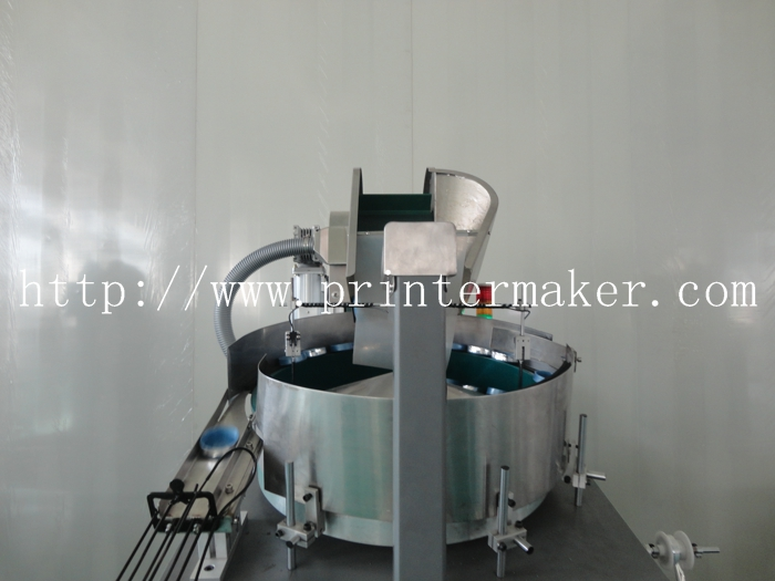 Automatic Rolling Hot Stamping Machines on Plastic Caps