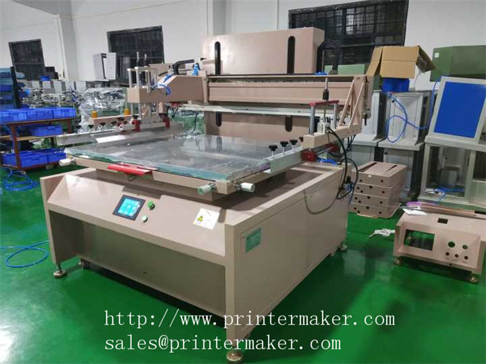 Fully Electrical Driven Flat Bed Screen Printer With PLC Control and Servo Motor