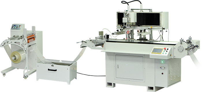 Roll to Roll Screen Printing Machine with UV Curing