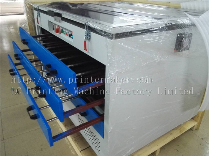 Exposure Drying Closet for Silk Screen Frame Making
