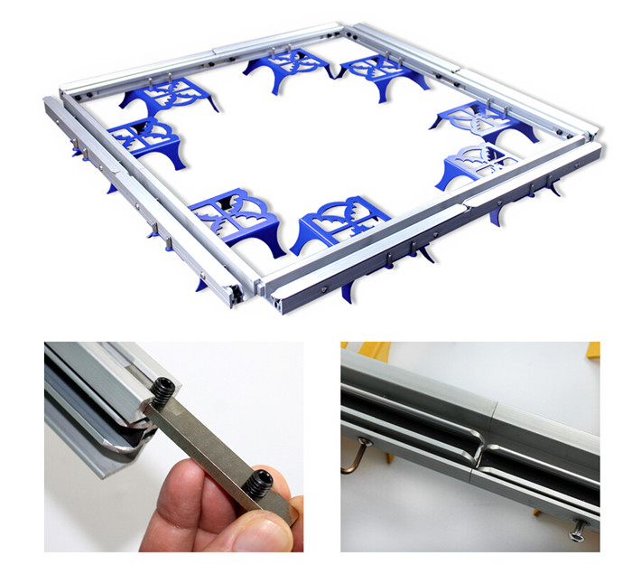Combined Stretcher Screen Printing Frame