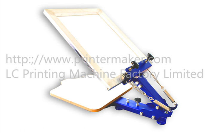 One Color T Shirt Screen Printing Press