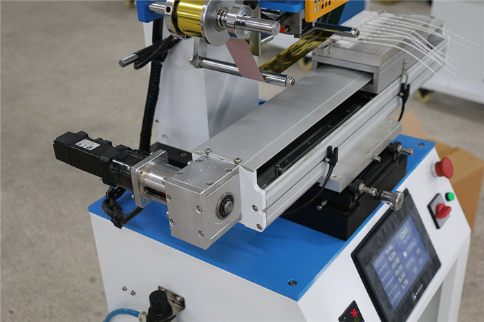 Security Plastic Seal Servo Motor Hot Stamping Machine