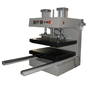 B5-2 Pneumatic Heat Press Machine with Sliding Workingtable