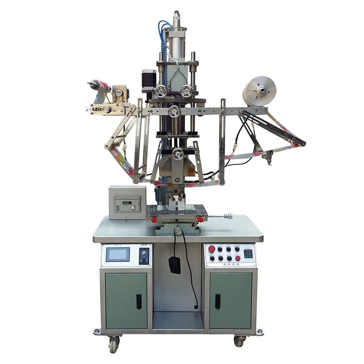 Rotary gear taper Cup Heat Transfer Machine (rubber wheel type)