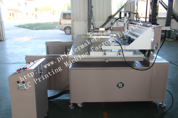 Motor Driving Large Format Silk Screen Printing Press