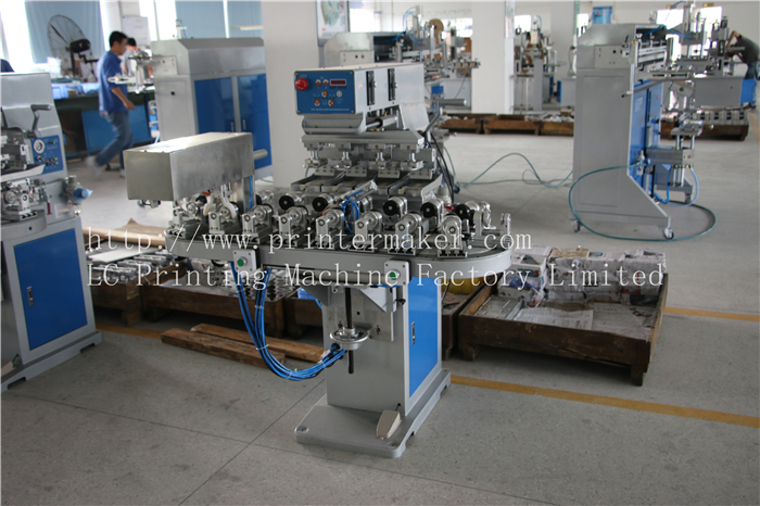 Pad Printing Machine with Automatic Unloading System
