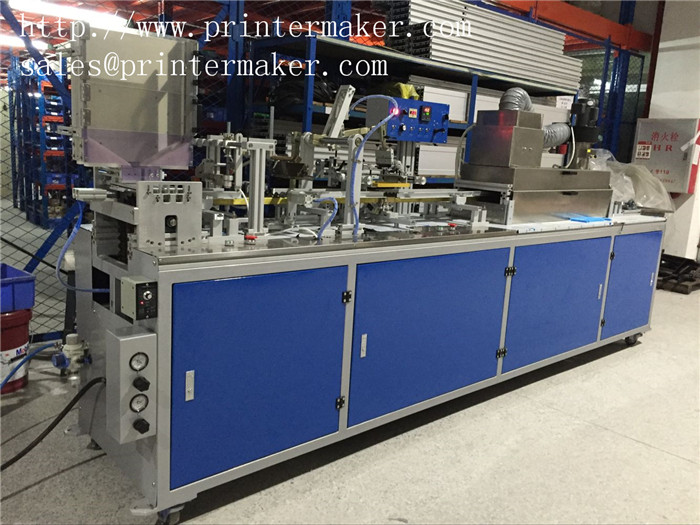 Automatic pen rod screen printing machine (new upgraded feeding system) APS-150B