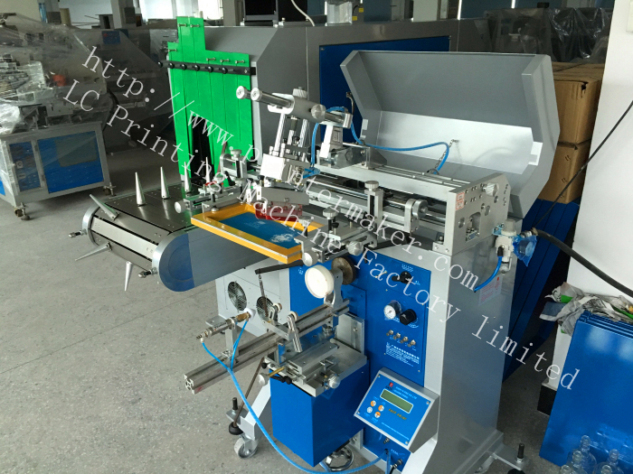 Semi Auto Printing Glass Bottles Line
