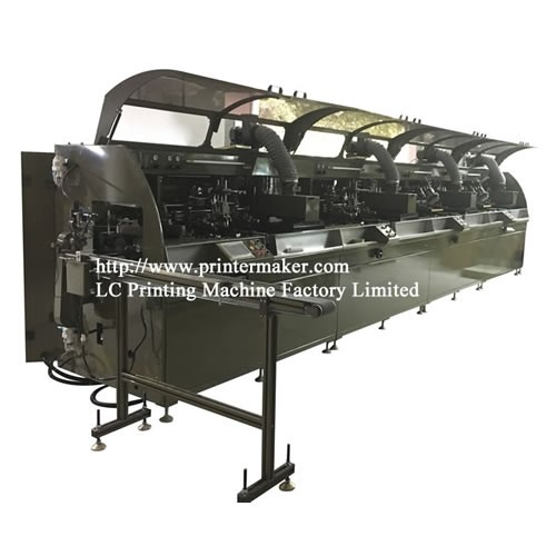 4 Color Automatic Silk Screen Printing Machine