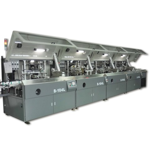 4 Color Fully Automatic UV Screen Printing Machine