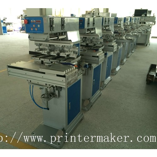 4-Color Pad Printing Machine with Shuttle