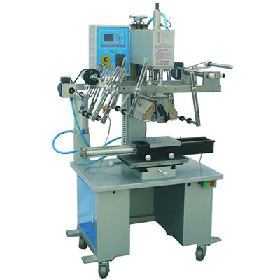 Auto Plate and Round Heat Transfer Machine