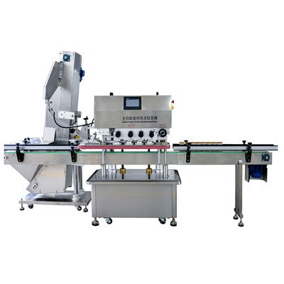 Automatic Frequency Conversion High Speed Capping Machine