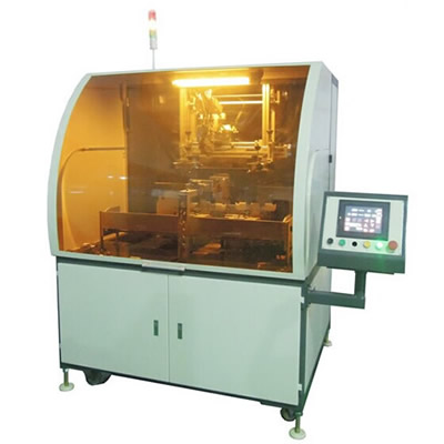 Automatic Glass Bottle Screen Printer For Cosmetic Industry