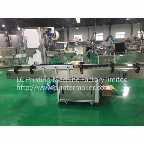 Automatic Glue Labeler for Bottles