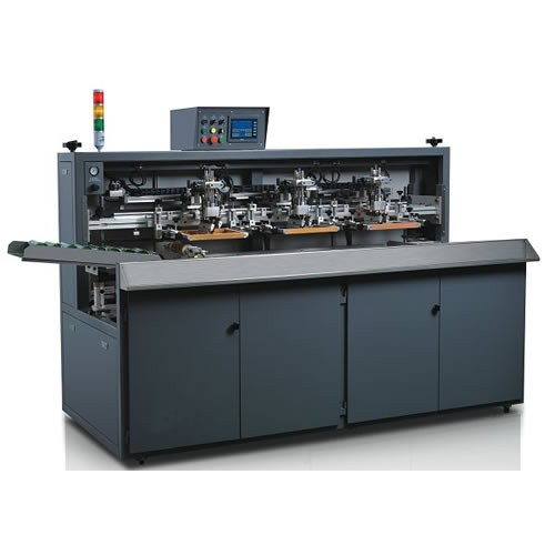 Automatic Screen Printing Machine For Glass Bottles