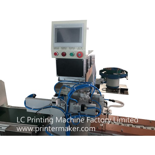 Automatic Single Color Pad Printer with IR Oven