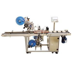 Automatic Top and Bottom Labeling Machine