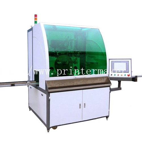 Automatic Vials/Ampoule Glass Bottle Screen Printer