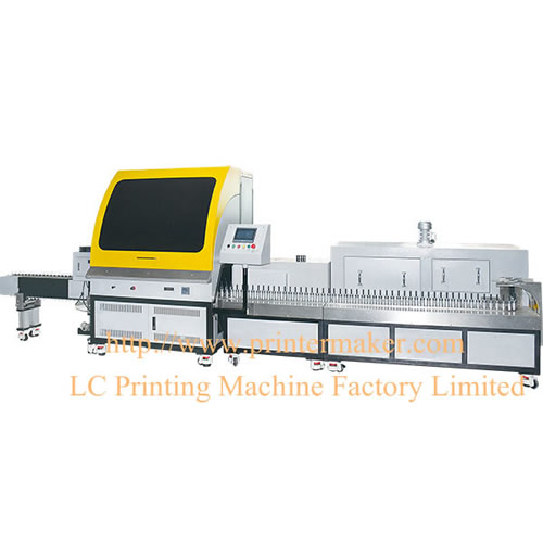 CNC Servo Motor Automatic Screen Printing Machine with Heating Oven