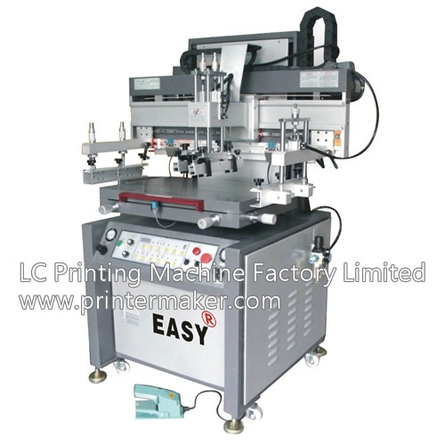 China Flat Bed Screen Printing Machine