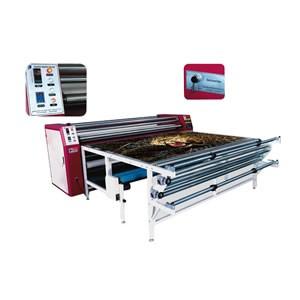 China Multifunctional Oil Heating Rotary Thermal Transfer Machine