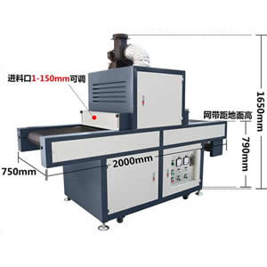 PVC sheet Flat UV Curing Machine