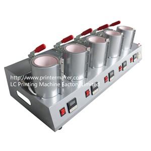 Combo Mug Heat Press Machine with 5 Stations