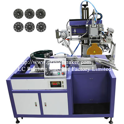 Count wheels Automatic Hot Stamping Machine