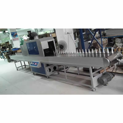 Cylindrical UV Curing Machine with Extend Conveyor Length