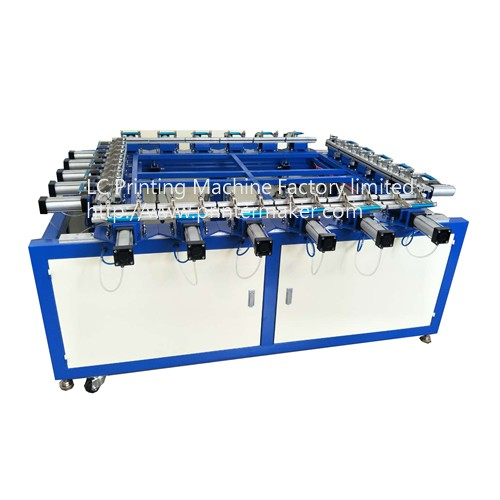 Double Clamp Pneumatic Stretching Machine