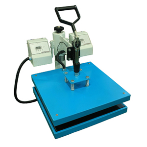 Double Heating Plates Heat Press Machine