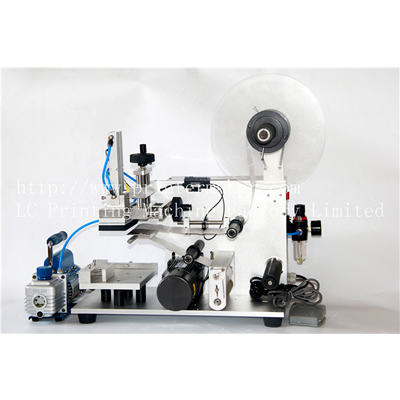 Economical Semi Auto Flat Labeling Machine