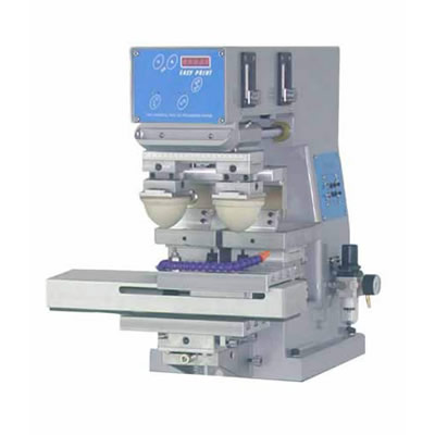 Economical Two Color Pad Printing Machine
