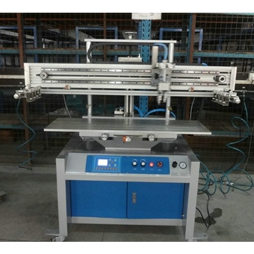 Flat Bed Screen Printing Machine with Vacuum Table