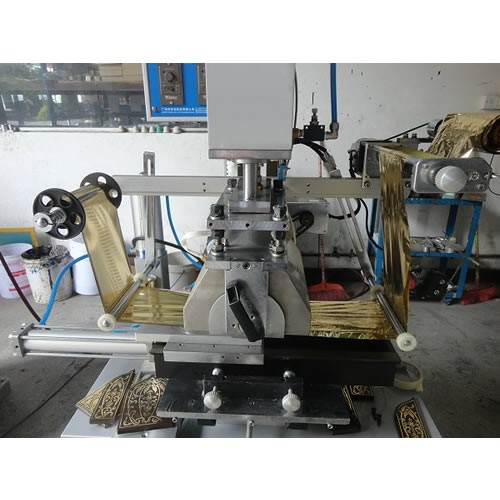 Flat and Cylindrical Hot Stamping Machine
