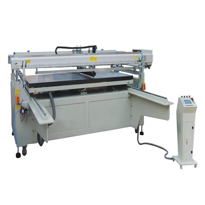 Four Column Big Area Screen Printing Machine with Sliding Table
