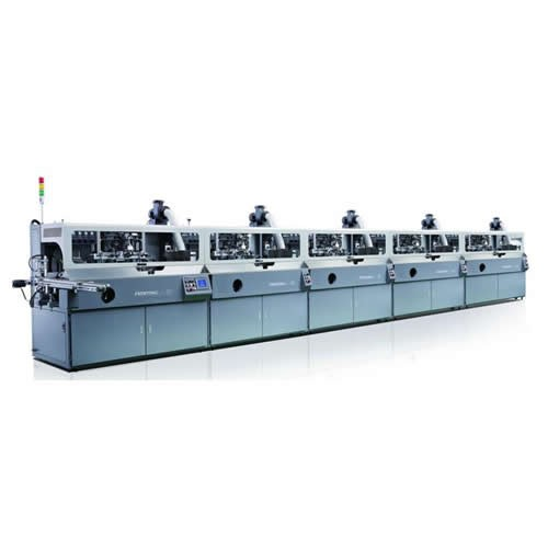Fully Automatic Five Color Screen Printing Machine