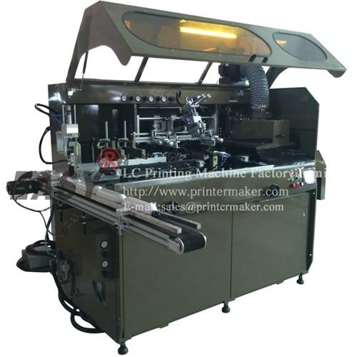 Fully Automatic UV Silk Screen Printing Machine on Sport Bottles